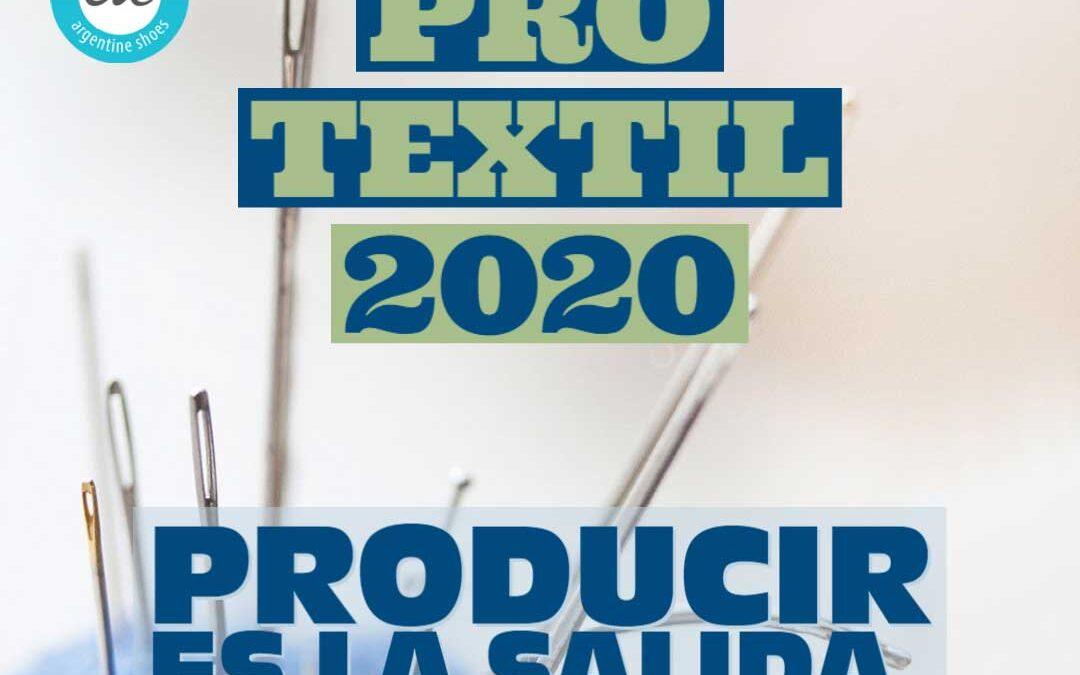 PRO TEXTIL 2020. Producir es la salida. El sector textil como protagonista.