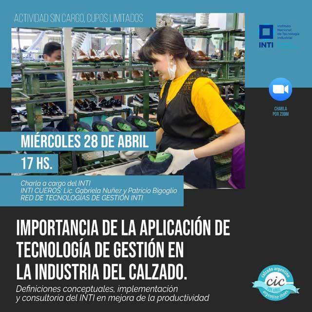 Importancia de la aplicación de tecnología de gestión en la Industria del Calzado