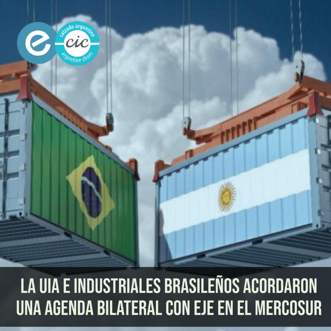 La UIA e industriales brasileños acordaron una agenda bilateral con eje en el Mercosur
