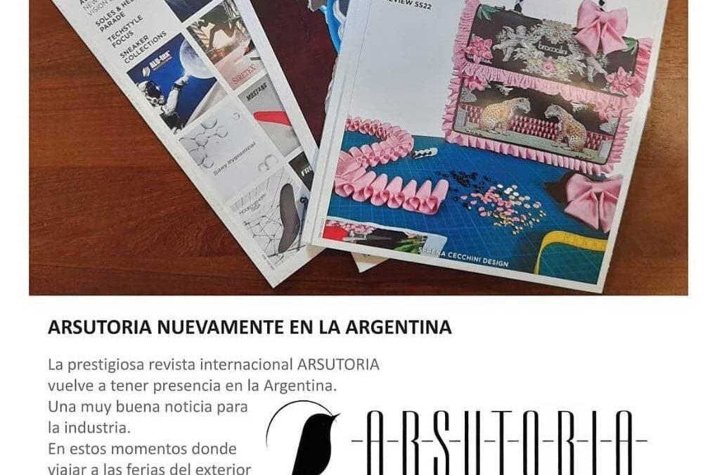 Arsutoria nuevamente en la Argentina